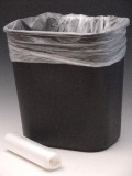 Hi Density Liners Are 14 Mic Biodegradable Environmentally Sound Bags Opaque Natural In Color It S Good For Home Or Office Use 25 Per Roll